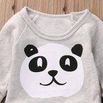 FRYS ensemble bebe garcon hiver panda vetement bébé garçon naissance printemps pas cher manteau garçon mode manche longue chemise blouse haut top sweatshirt t shirt + pantalons de la marque FRYS image 4 produit