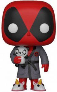 Funko- Pop Bobble: Marvel Playtime: Deadpool in Robe, 31118, Multicolore de la marque Funko image 0 produit