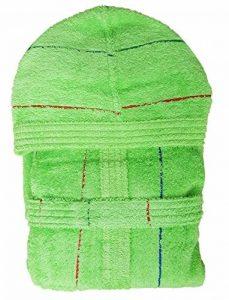 Gabel Peignoir à Capuche pour Homme en éponge Jacquard 380 g/m² Fabriqué en Italie XL 319 Verde de la marque Gabel image 0 produit