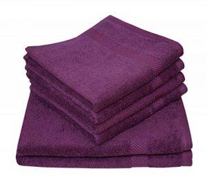 Gant de toilette bio Dyckhoff, violet de la marque Dyckhoff image 0 produit