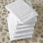 gant de toilette coton bio TOP 1 image 1 produit