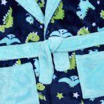 Garçons Robe de Chambre en Molleton imprimé Dinosaure de la marque Minikidz image 1 produit