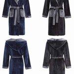 Garçons Robe de Chambre Peignoir à Capuche Les Enfants - Velours Doux Polaire - Bleu Marine Noir 7 à 13 Ans de la marque Slumber+Hut image 4 produit