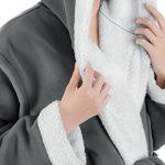 Genuwin Peignoir en Polaire Femme Lot de 1 en Flanelle Poche Ceinture Chaud de la marque Genuwin image 2 produit