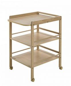 Geuther Table àLanger Clarissa naturelle - Plan à langer + 2 étagères de la marque Geuther image 0 produit
