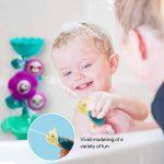 GizmoVine Jouet de Bain en Forme D'fleur, Animaux Jet Pulvérisation d'eau Jouet Bebe pour Enfants,Garçons et Filles Qui Jouent dans la Piscine et la Salle de Bains. de la marque GizmoVine image 2 produit