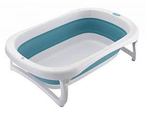 Glenmore Baignoire Pliante Bebe Baignoir Pliante Enfant sur Pied Retractable Bassine Bleu de la marque Glenmore image 0 produit