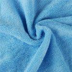 Golden Rule Premium Gant de toilette Serviette de bébé à capuche Super épais et doux et absorbant Serviettes de bain de bambou pour nouveau-né fille ou garçon et enfants (bleu) de la marque YMHPRIDE image 4 produit