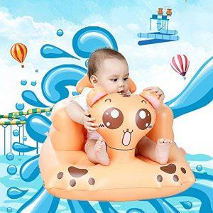 Gonflable Canapé Safe Assise Infantile Multifonctionnel BB Chaise de Table Portable Tabouret de Bain pour bébés de la marque Comaie image 0 produit