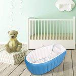 Gonflable Douche de Voyage Pliable Baignoire Pour Bébé Enfants Nouveau-nés (Bleu) de la marque Bilisder image 3 produit