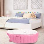 Gonflable Douche de Voyage Pliable Baignoire Pour Bébé Enfants Nouveau-nés (Rose) de la marque Bilisder image 3 produit