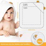 grande serviette de bain bébé TOP 8 image 2 produit