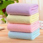 Greeiok Nouvelles serviettes de bain grandes fibres unisexes ultrafines Serviette de plage à séchage rapide Serviettes de toilette de la marque Greeiok image 4 produit