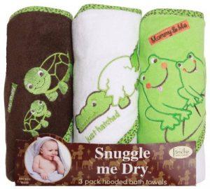 Grenouille/Aligator/Turtule Hodded serviette de bain Set de la marque Frenchie-Mini-Couture image 0 produit