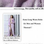 GUOCU Femme Peignoir Polaire à Capuche avec 2 Poches Hiver Peignoir de Bain Flanelle Robe de Nuit Flanelle de la marque GUOCU image 4 produit