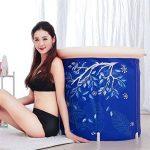 GWM Baignoire Baignoire Gonflable Baignoire Gonflable encastrable PVC pour Enfant (Taille : 70x70cm) de la marque GWM image 3 produit
