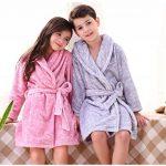HAHABABY Garçon Fille Peignoir Sortie Drap de Bain pour Enfants Serviette de Bain Vêtements de Nuit Pyjamas Robe de Chambre Coton 100% de la marque HAHABABY image 3 produit