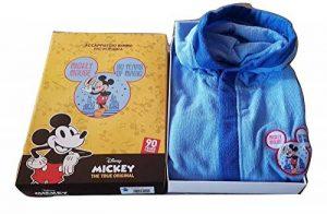 hermet Peignoir Enfant Mickey Microfibre Couleur Bleu Ciel Tailles 3/4-5/6-7/8 Ans 5/6 Anni Bleu Ciel de la marque hermet image 0 produit