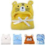 Hinmay - Serviette à capuche pour bébés - Douce couverture de bain - En forme d'animal - Pour nouveau-nés (filles ou garçons) - 0-24mois, #5, Taille unique de la marque Hinmay image 2 produit