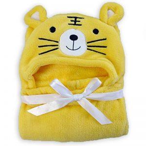 Hinmay - Serviette à capuche pour bébés - Douce couverture de bain - En forme d'animal - Pour nouveau-nés (filles ou garçons) - 0-24mois, #5, Taille unique de la marque Hinmay image 0 produit