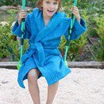 Home Basic Kids - Peignoir Enfant avec Capuche Taille 14, Couleur Bleu Ciel de la marque BONAREVA image 2 produit