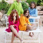 Home Basic Kids - Peignoir Enfant avec Capuche Taille 6, Couleur Bleu Ciel de la marque N/D image 1 produit