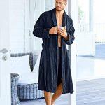 Homme Grandes Tailles Peignoir éponge col châle Tissu en Coton 702388 de la marque JP1880 image 3 produit