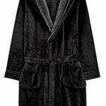 Homme Peignoirs de Bain Peignoir de Robe de Chambre en Microfibre avec Capuche et Poches pour Homme différentes Tailles et Couleurs de la marque FLYCHEN image 2 produit