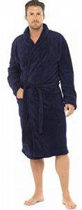 Hommes Luxe Doux Corail Peignoir Robe De Chambre Polaire de la marque Pierre-Roche image 0 produit