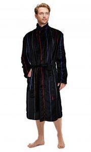 Hommes Supersoft Robe De Chambre Polaire Bain Robe De Chambre Peignoir Pour Chaud Hiver Style de la marque Gensen image 0 produit