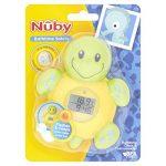 Horloge et thermomètre de bain Nuby - Tortue de la marque Nûby image 1 produit