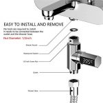 Huapa Thermomètre de douche à affichage numérique LED avec prise de tuyau de douche, mesure précise, alimentation automatique de la marque Huapa image 1 produit
