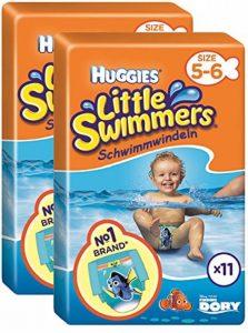 Huggies Little Swimmers Standard Taille 5/6 (12-18 kg) x 11 Culottes Lot de 2 de la marque HUGGIES image 0 produit