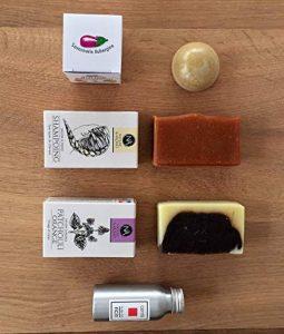Huile de Ricin Bio Pure 50 ml + Shampoing solide, savon et déodorant bio TOP QUALITÉ Made in France de la marque Générique image 0 produit