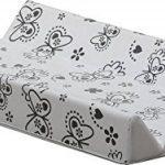 """IB-Style - Plan à langer à fixer - avec Planche rigide - 11 décors différents - Matelas à langes 84 x 47 x 10 cm - Matelas Commode Bébé Meuble   Modèle """"Butterfly"""" de la marque IB-Style image 1 produit"""