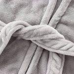 IEUUMLER Bébé Garçon Peignoir Sortie De Bain à Capuche Pour Enfants Serviette de Bain Vêtements de Nuit Pyjamas 0-6 Ans IE002 (Height:80-90CM(110)) de la marque IEUUMLER image 3 produit