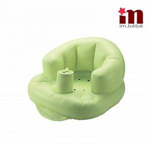 Imbebe siege bebe gonflable multifonction(douche,repas,plage,jeux etc.) en PVC- pompe integree pour enfant de 6mois- 5ans de la marque imbébé image 0 produit