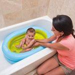 INTEX 48421NP Baby Set de Baignoire avec Pompe à Main, Bleu de la marque INTEX image 2 produit