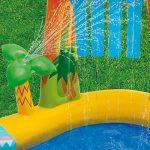 INTEX Aire de jeux gonflable Jurassic - 249 X 191 X 109cm Multicolore de la marque INTEX image 2 produit