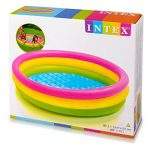 INTEX Piscine 3 Boudins Fond gonflable de la marque INTEX image 2 produit