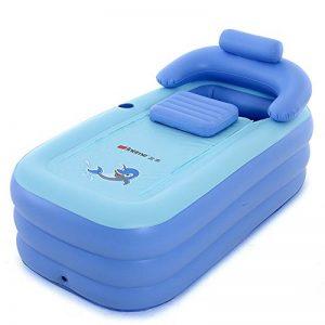 Intime Pliable Gonflable Adultes Chauds Baignoire, Enfants Piscine Gonflable, Bleu de la marque Gweat Bathtub image 0 produit