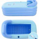 Intime Pliable Gonflable Adultes Chauds Baignoire, Enfants Piscine Gonflable, Bleu de la marque Gweat Bathtub image 2 produit