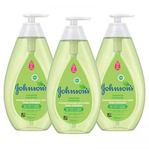 Johnson's Baby Shampooing 750 ml- Lot de 3 de la marque Johnsons-Baby image 0 produit