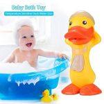 Jouets Enfant Cadeaux d'enfants de pistolet d'eau de canard sensible à la température mignon de jouets de bain de bébé de la marque Yangmg image 2 produit