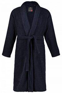 JP1880 Homme Grandes Tailles Peignoir éponge col châle Tissu en Coton 702388 de la marque JP1880 image 0 produit