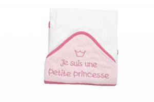 KING BEAR Cape de bain brodé JE SUIS UNE PETITE PRINCESSE de la marque king-bear image 0 produit