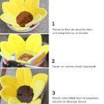 KINJOHI Coussin de Bain pour bébé Nouveau-né en Fleur, Doux, Pliable, Lavable en Machine à Laver de la marque KINJOHI image 3 produit
