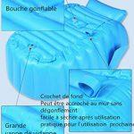 Kintone Baignoire Gonflable Pour Bébé Pliable Bassin Gonflable Enfant Avec Siège Central Anti-Glissante Été (Bleu) de la marque Kintone image 3 produit