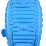 Kintone Baignoire Gonflable Pour Bébé Pliable Bassin Gonflable Enfant Avec Siège Central Anti-Glissante Été (Bleu) de la marque Kintone image 4 produit