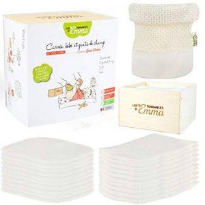 Kit Eco chou - lingettes bébé lavables - matière : coton bio de la marque Les-Tendances-dEmma image 0 produit